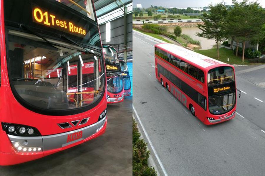 新一代九巴巴士以傳統紅色為主,配以銀色線條點綴車身。車頂設計以紅色線條勾勒香港的城市景觀,配上主題「城市脈搏」,寓意九巴車隊全天候服務市民。(九巴)