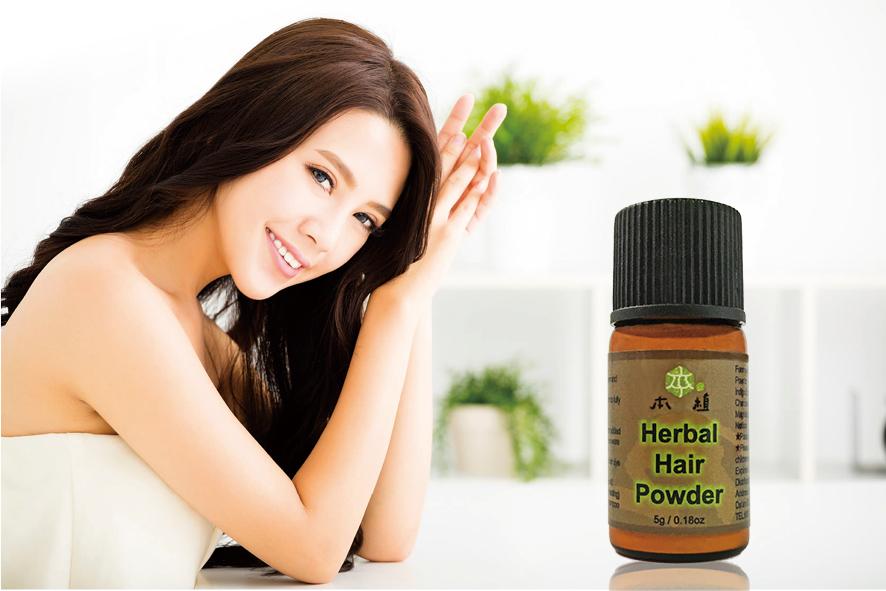 台灣本植首創草本活氧染,革命性無毒配方,藉由天然植物、礦物提煉的成份,透過氧化作用將頭髮表面逐漸變黑,達到染色效果。(大紀元製作)