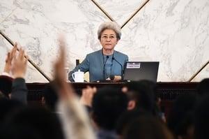 談朝核問題 中共人大高官傅瑩遭陸媒嗆聲