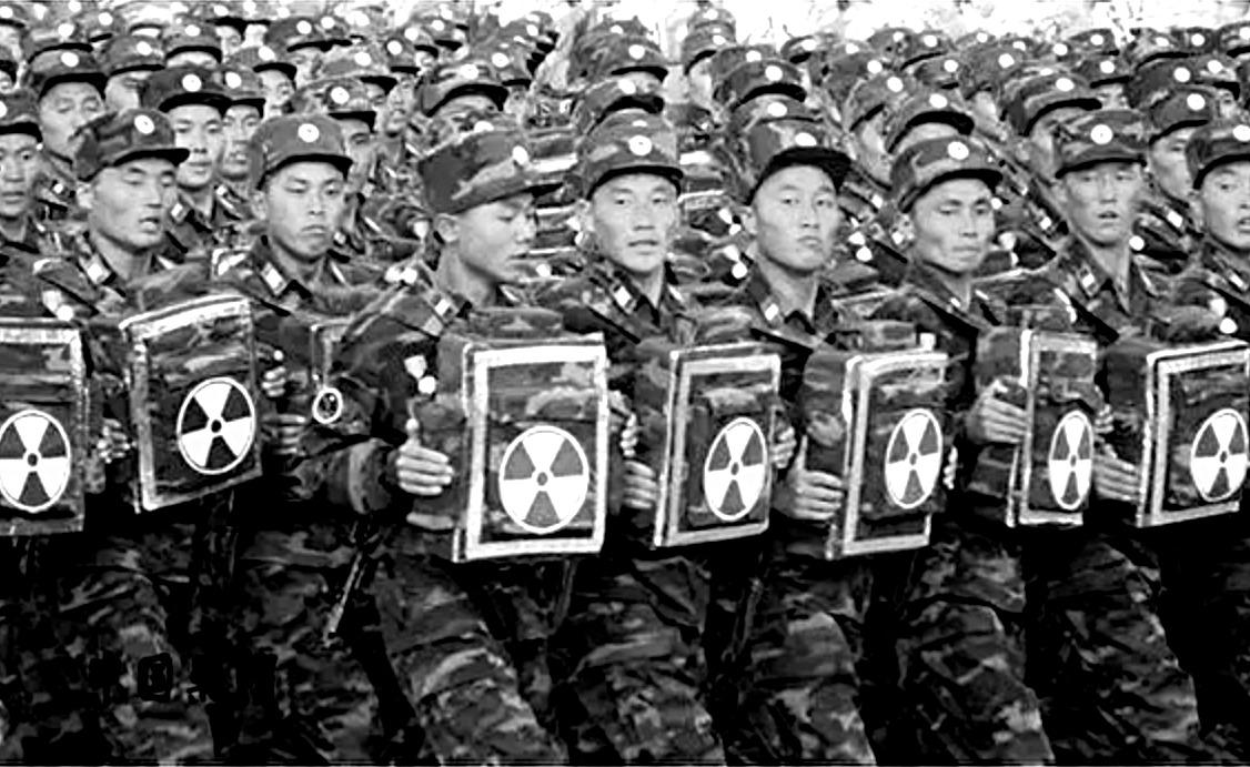 北韓擁有全世界唯一的自殺式髒彈部隊。(網頁擷圖)