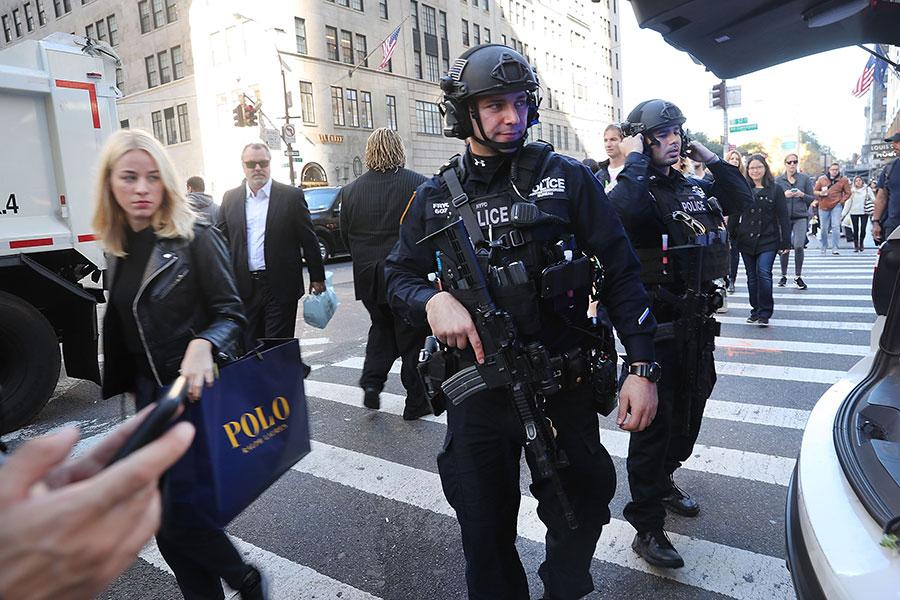 美國總統特朗普新反恐戰略提前曝光,依其內容,將要求盟國在打擊伊斯蘭國(ISIS)武裝份子方面承擔更多的責任,必要時採取直接和單方面的行動。(Spencer Platt/Getty Images)