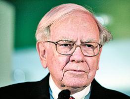 巴菲特稱中國股市像賭場