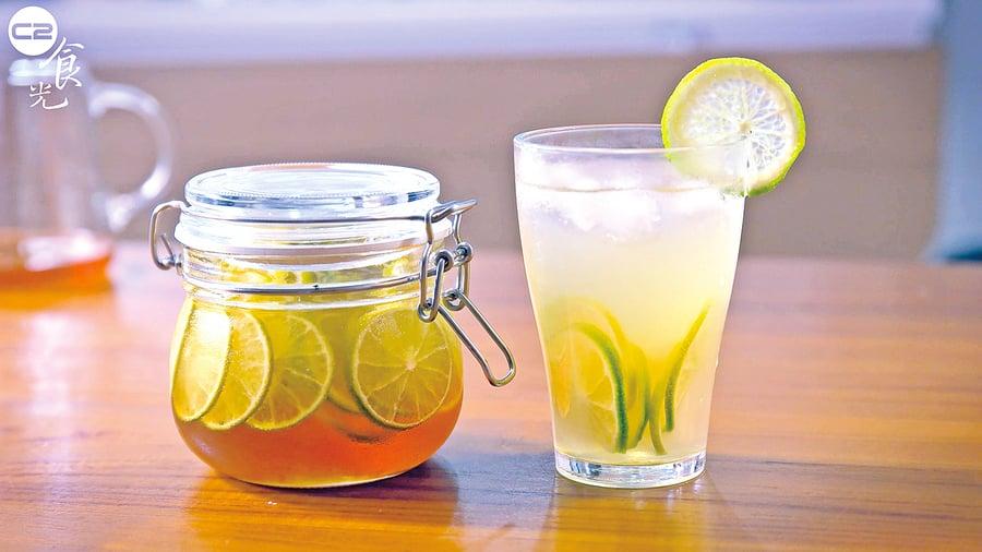 清爽的美容聖品 蜂蜜檸檬飲