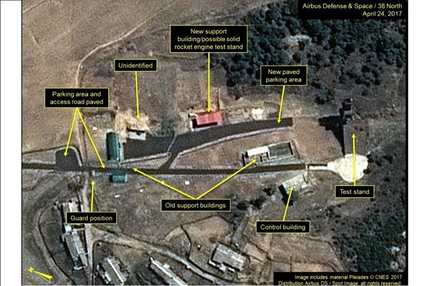 北韓準備進行第六次核試驗