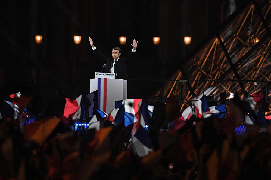 法大選馬克龍獲勝 歐盟及各國元首祝賀