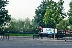 北京空氣質量涉造假 霧炮車對著監測站噴霧