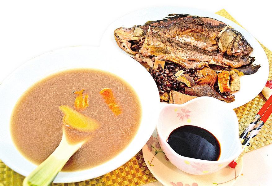 【梁廚美食】赤小豆桑白皮鯽魚湯