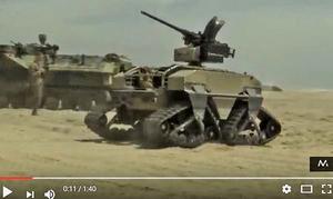 美測試作戰機器人能執行海灘登陸戰