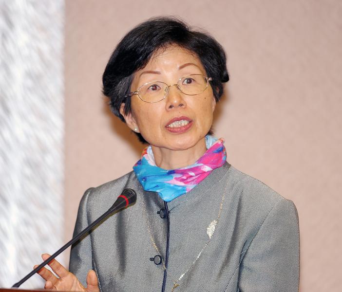 台灣陸委會5月9日發表聲明,對陸方以片面宣稱的政治理由,施壓世界衛生組織,阻撓致發邀請函,表達強烈抗議與不滿。圖為陸委會主委張小月。(中央社檔案照片)