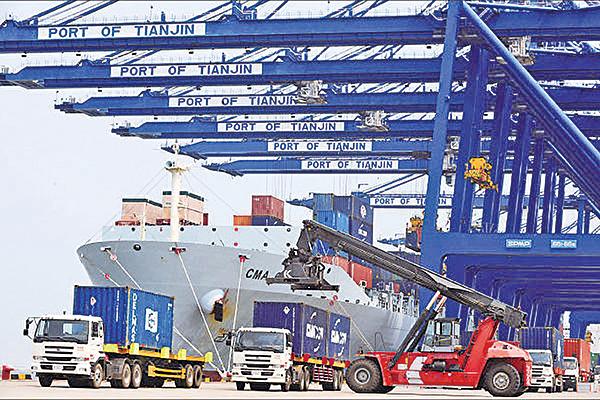 中國四月進出口增速回落