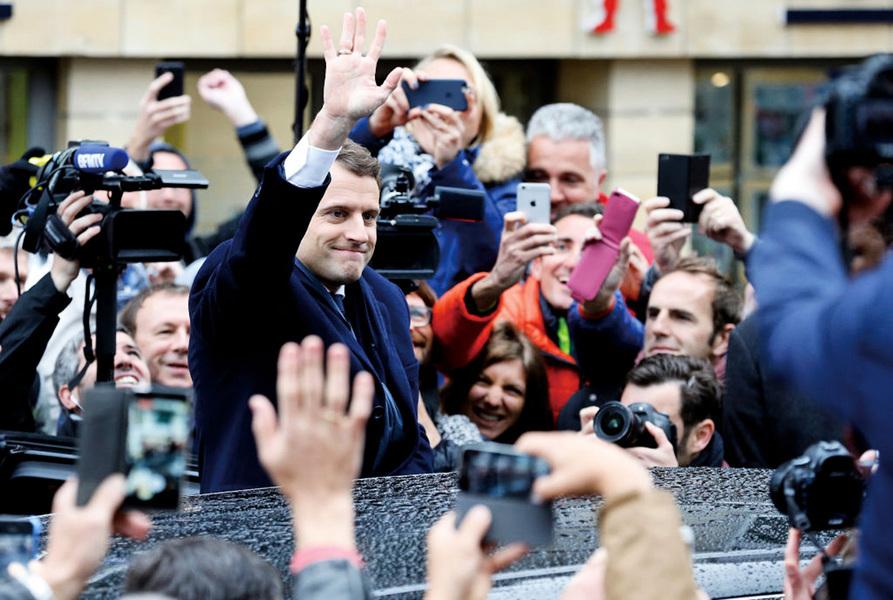 馬克龍當選 美歐政經格局延續