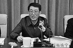 傳中共前公安部副部長 楊煥寧被抓