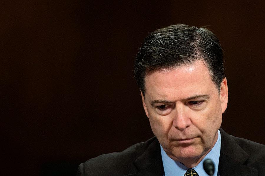特朗普開除FBI局長科米