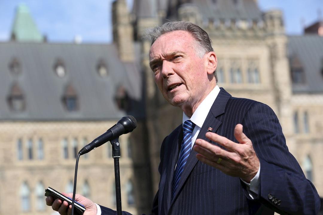 加拿大國會議員肯特(Peter Kent)兩度在國會為孫茜發聲,呼籲杜魯多政府更有力地營救本國公民孫茜。(艾文/大紀元)
