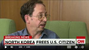 將聖經藏在垃圾桶下被捕 美國人北韓歷險記