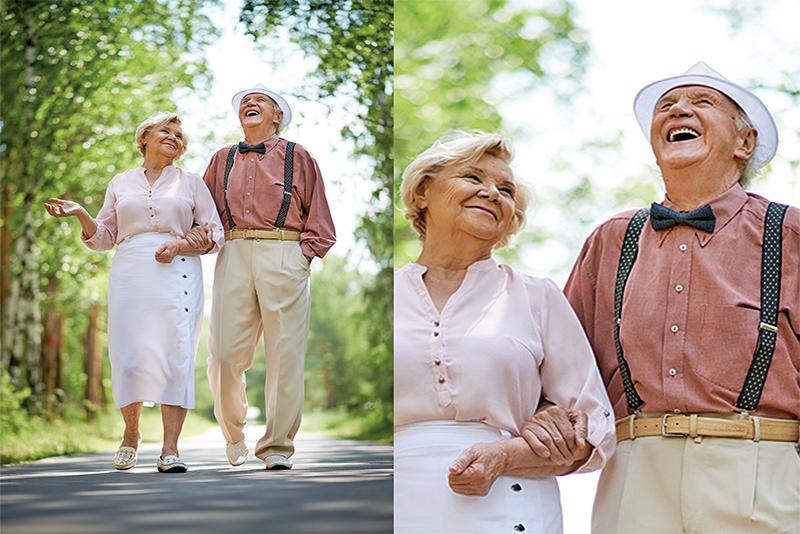 每周散步150分鐘 降低「老人失能」風險