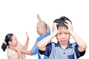家暴帶給孩子的傷害