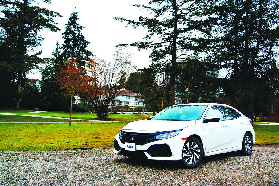 R之序章 2017  Honda Civic Hatchback LX
