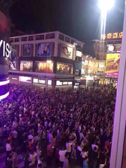粵數萬市民抗議建垃圾焚燒場 千警催淚彈鎮壓