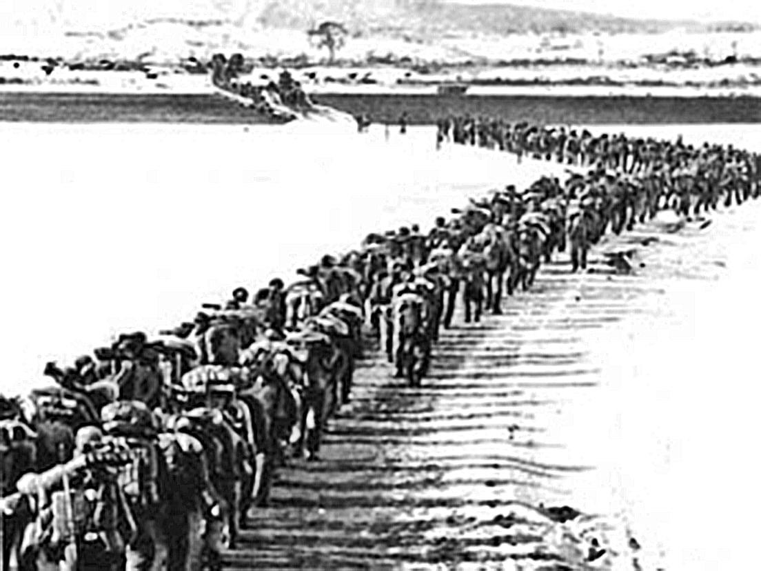 當年中國人民以巨大犧牲參入的那場戰爭是否值得?中國大陸出兵北韓的最後結果,不僅被金日成趕了出來,而且被聯合國大會決議認定為侵略者。 (網絡圖片)。