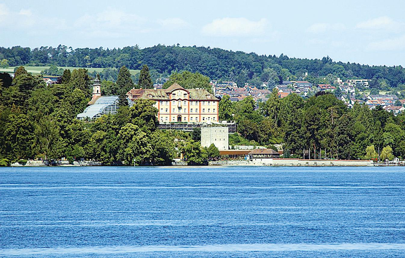 湖上遠觀美瑙島。(維基百科)