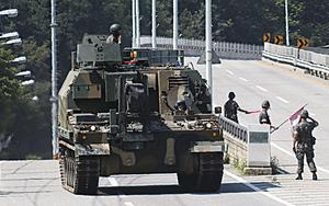 美韓軍演兩棲登陸戰 示警北韓