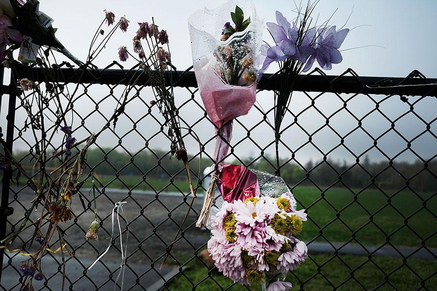 MS-13黑幫已經讓長島多名青少年喪命。(Spencer Platt/Getty Images)