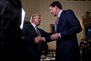 特朗普暗示 有和前FBI局長私人談話錄音帶