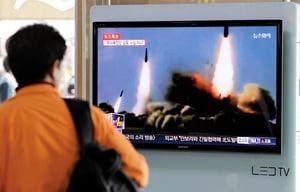文在寅譴責北韓發射導彈