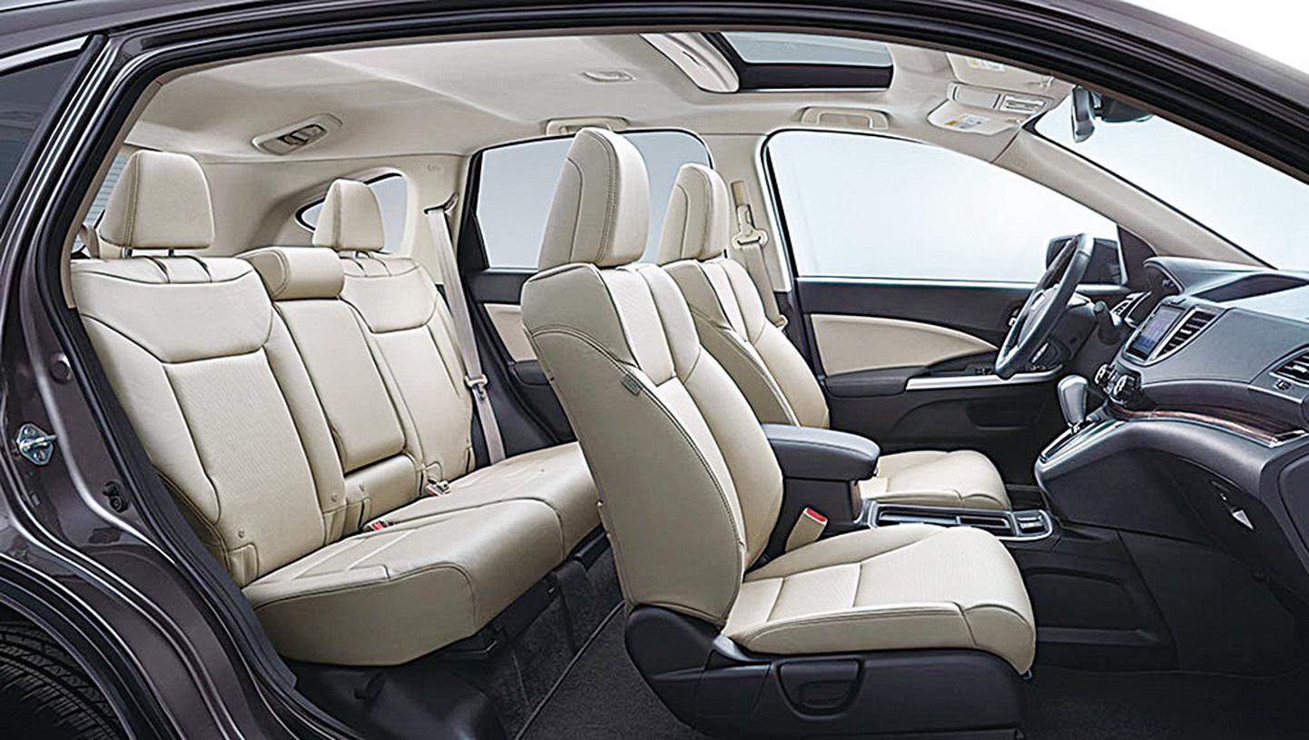 2017年Honda CR-V有5款配置車型:LX-2WD、LX、EX、EX-L以及Touring。(Honda)