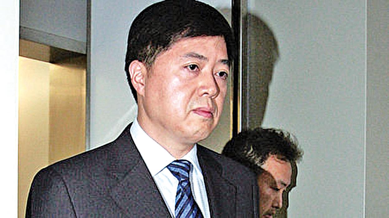 劉芳菲丈夫劉希詠。(網絡圖片)