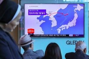 北韓射導彈 官媒聲稱測試搭載核彈頭能力