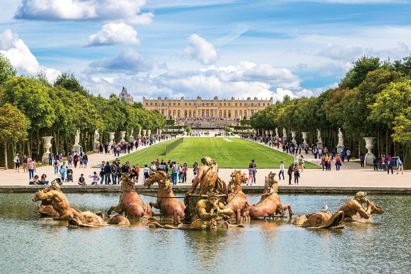 法式大花園的典範  凡爾賽宮園林 (下)