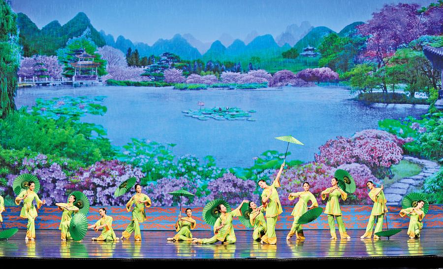 豐富舞蹈表現的神韻道具
