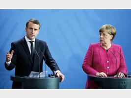 法新總統訪德 默克爾盼合作改革歐盟