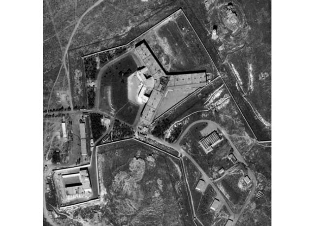 美國國務院15日表示,敘利亞在監獄旁設置火葬場,試圖焚屍滅跡,掩蓋大屠殺行為。(網絡圖片)