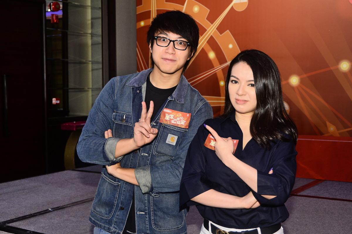 吳業坤與王灝兒將在《萬眾同心公益金》活動一起合唱。(宋碧龍/大紀元)