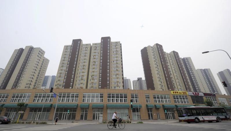 中共國土部官員聲稱大陸高房價是因為炒作,否認和土地供應有關。這一說辭遭到大陸經濟學家的反駁。(Getty Images)