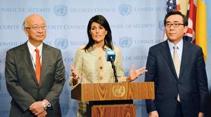 北韓若中止核試 美UN大使:願談判