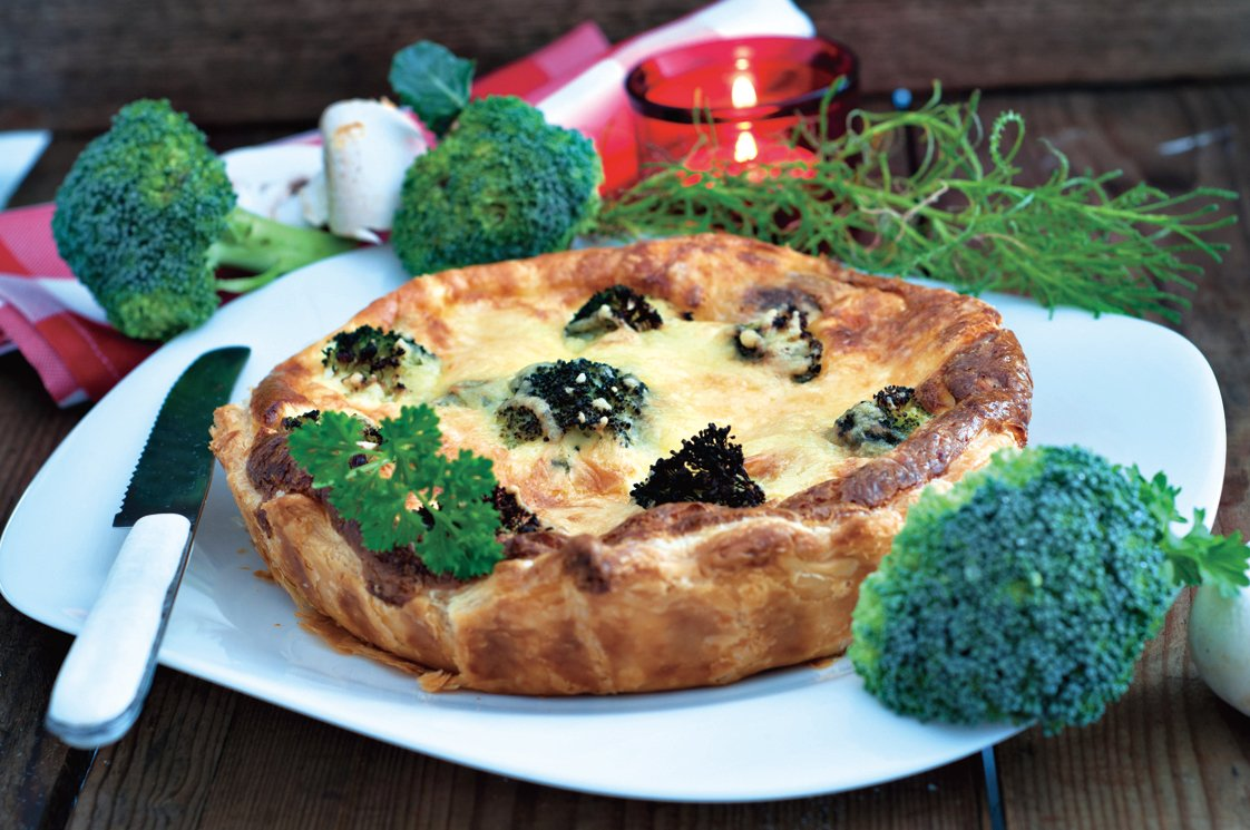 在法國,即使是蔬菜鹹批也很難是純素食。