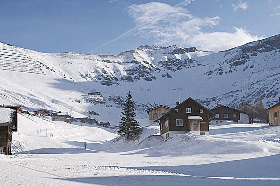 列支敦士登冬日景觀。(維基百科)