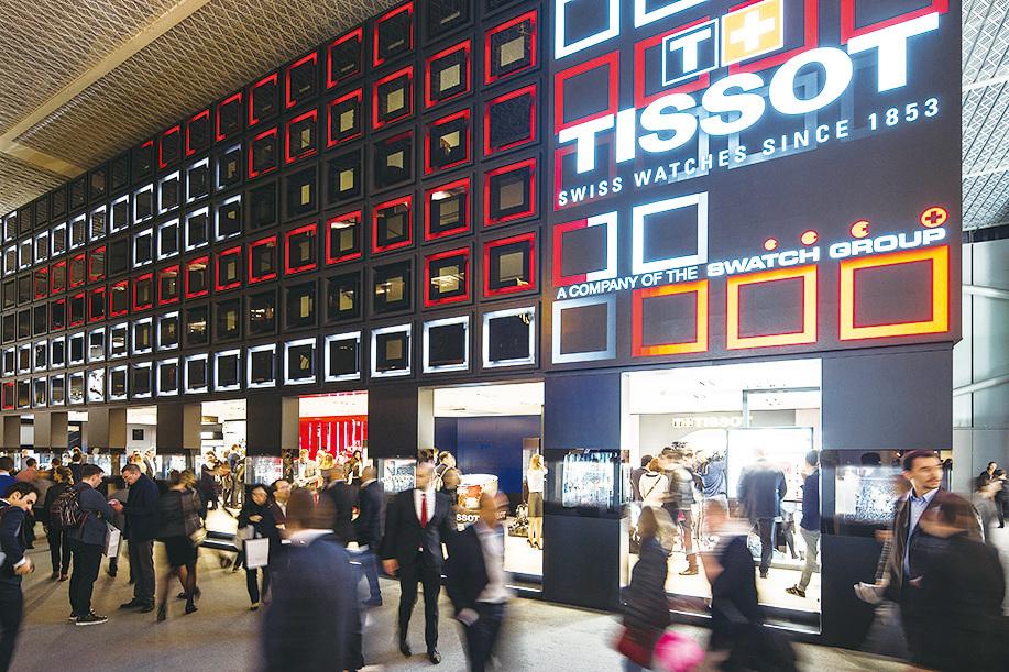Baselworld展會期間,世界各地頂級品牌與行業翹楚匯聚一堂。(展會提供)