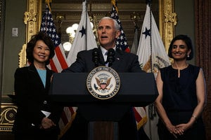 白宮慶祝亞太裔傳統月 彭斯:亞裔創造歷史