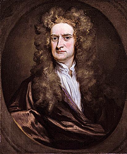 著名的科學家牛頓小時候就出現憂鬱的傾向。(維基百科)