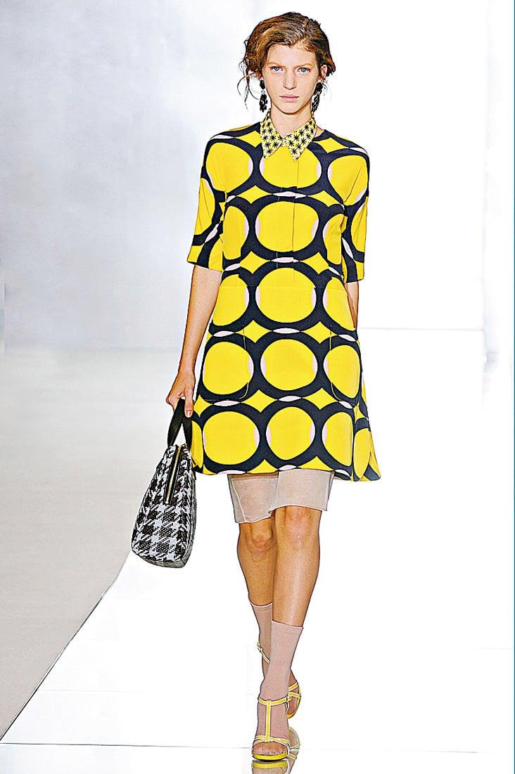 黃色和黑色是天作之合,這樣的圖案十分炫酷,還可以帶出女性可愛的一面。(網絡圖片)