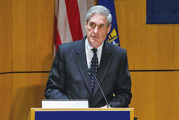 美國前FBI局長穆勒。