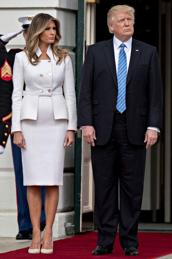 從周五(5月19日)開始,美國總統特朗普和第一夫人開始首次歐亞訪問。(Getty Images)