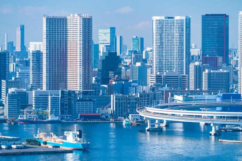 2017年第一季度日本經濟加速增長,首相安倍晉三(Shinzo Abe)當政後的最近一輪經濟持續增長勢頭延續到第五個季度。圖為日本東京。(PIXTA)