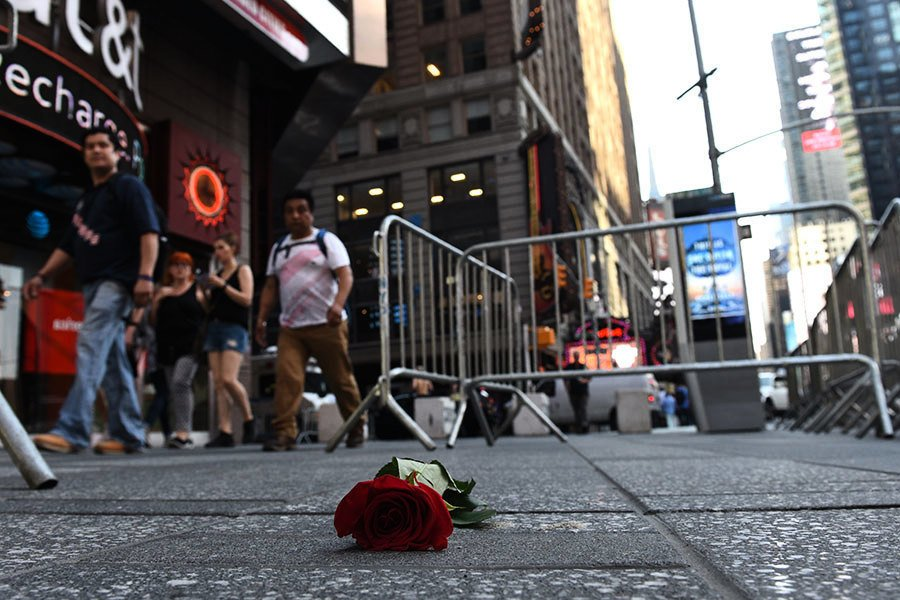紐約時代廣場駕車撞人 司機被控謀殺