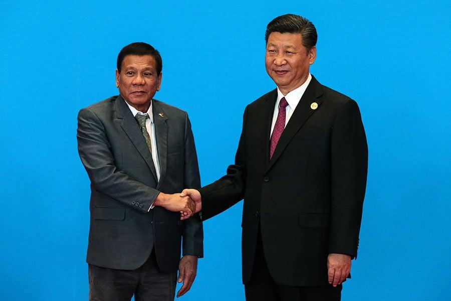 習近平與菲總統就南海交鋒 對話內容火爆